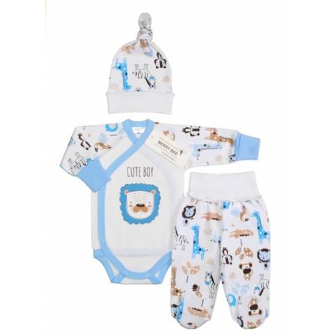 """Комплект для новорожденного мальчика """"Cute animals"""""""
