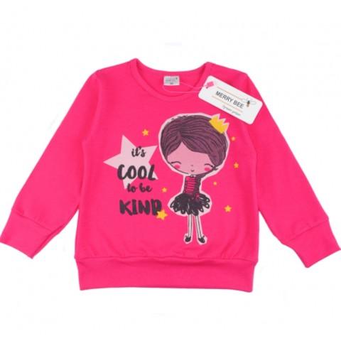 """Блузка для девочки """"Cool be kind"""""""