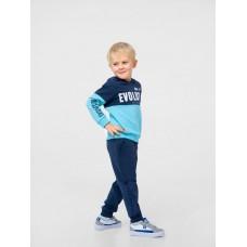 Штаны спортивные для мальчика, темно-синие, ТМ Смил