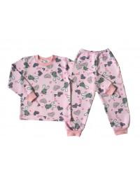 """Пижама с начесом для девочек """"Bunny"""""""