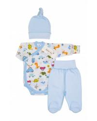 """Комплект для новорожденного мальчика """"Dino"""""""