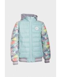 Курточка для девочки Тюльпаны